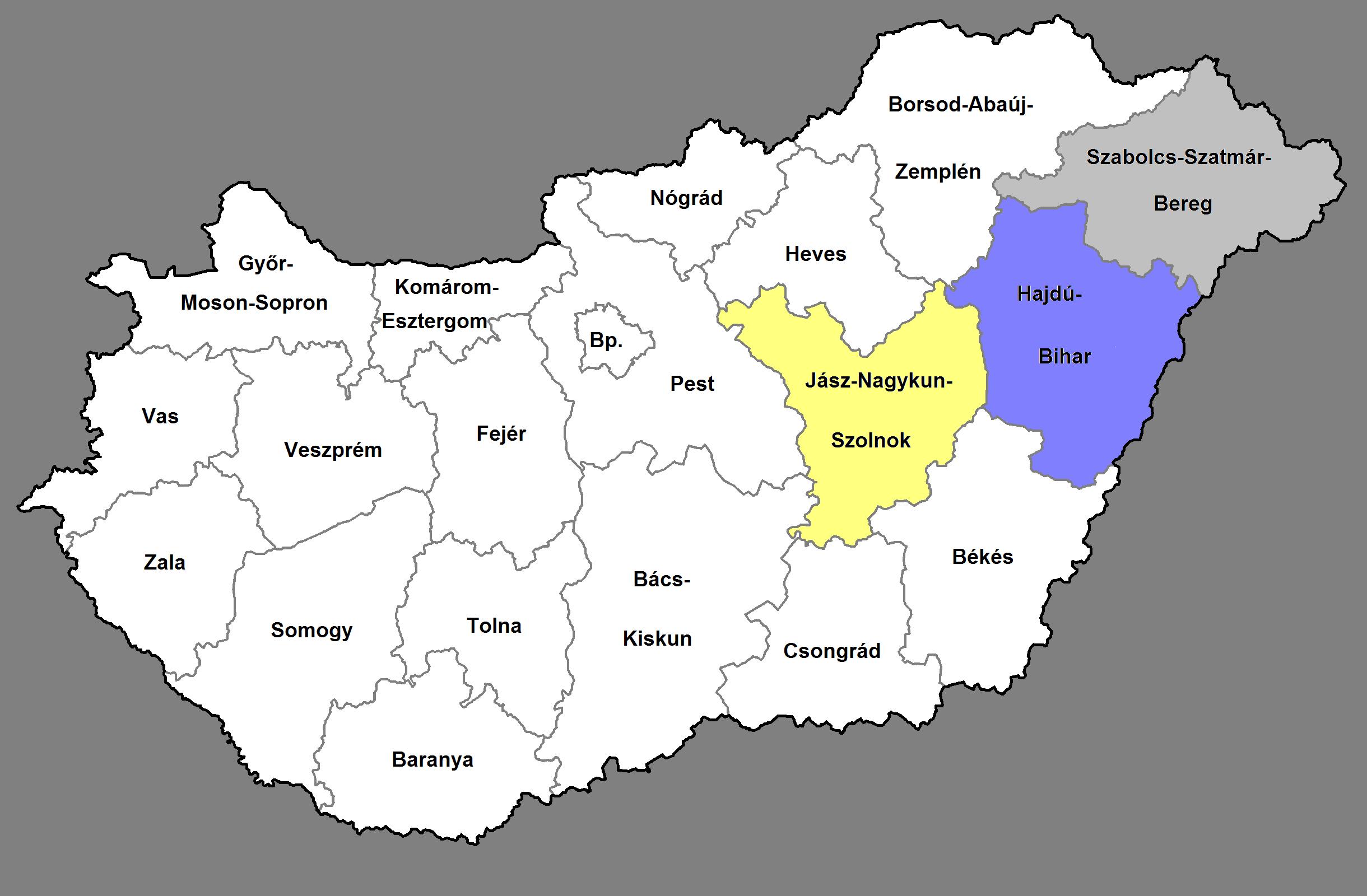 Észak-Alföld régió - uniós pályázatok