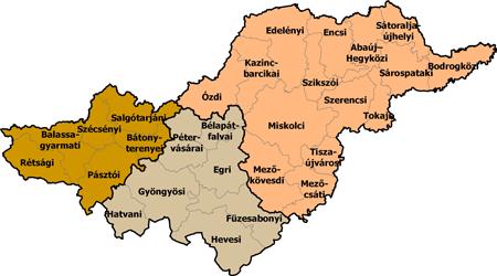 Észak-Magyarország régió