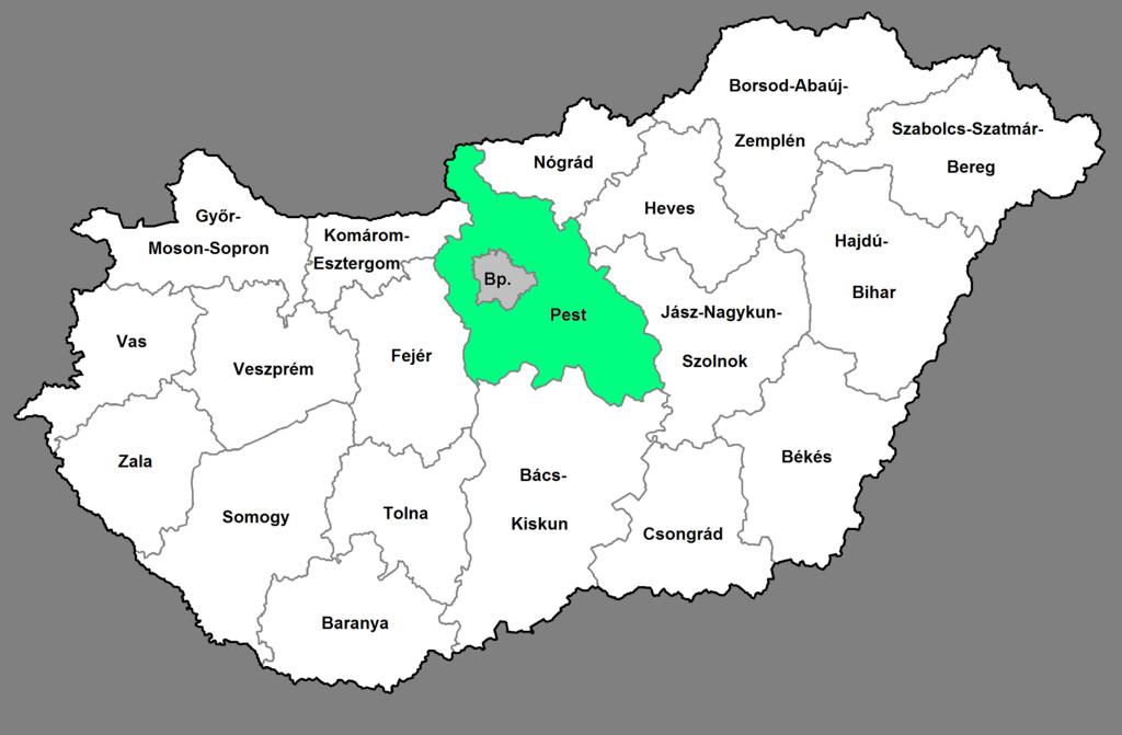Közép-Magyarország régió - uniós pályázatok